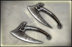 Twin Throwing Axes - 1st Weapon (DW8)