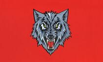 Black Wolf Flag