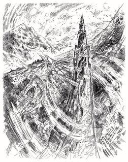 Frostfell ice spires