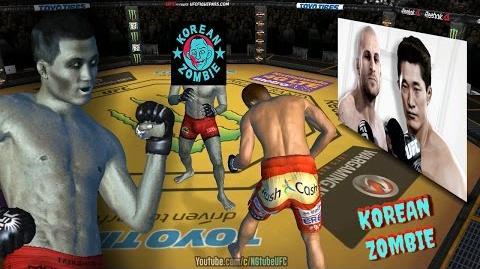 UFC 207 Live Event Dong Hyun Kim VS Chan Sung Jung (MOD) Korean Zombie