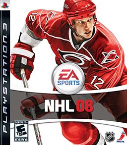NHL 08 Coverart