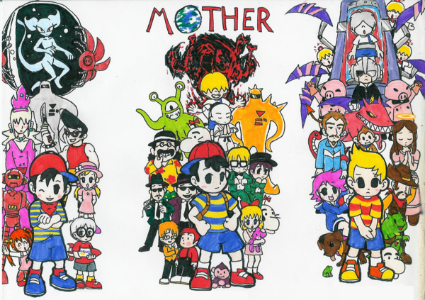 File:Another earthbound group shot by hyliaman.png