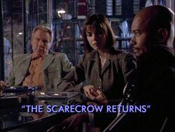 Scarecrow returns title