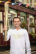 Billy Mitchell Olympic Torch