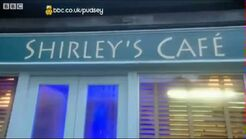 Shirley's Cafe Sign (2011)