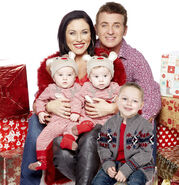 Kat And Alfie Moon and Children