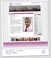 LB Lettings Website