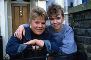 Sharon Watts and Michelle Fowler