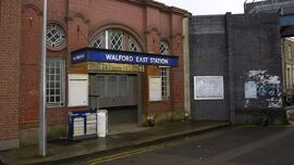 Walford East Train Station