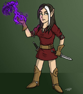 Therese Brightwood - Cartoon by Alexander Arts