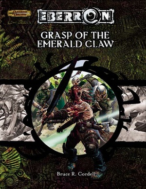 Cover of Grasp of the Emerald Claw