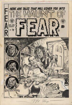 Haunt of Fear Vol 1 26 Original Cover Art