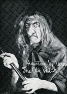 Old Witch Photo- Posed by Johnny Craig