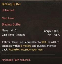 Blazing Buffer