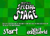 Not-so Special Stage Title Screen