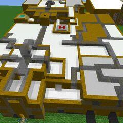 A huge house with a pool, gymnasium...