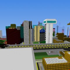 Part of the downtown area of magalopolis