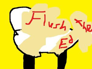 Flush the Ed 1
