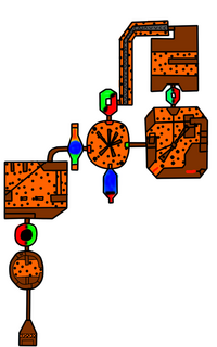 Magma Flow Factory Map