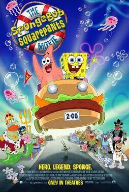 The SpongeBob SquarePants Movie poster