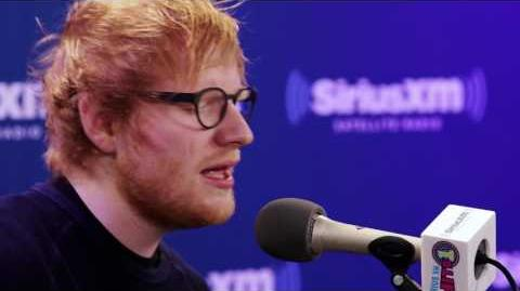 "Ed Sheeran ""Shape of You"" SiriusXM Hits 1"