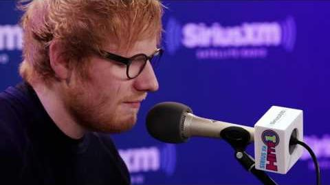 "Ed Sheeran ""Castle on the Hill"" SiriusXM Hits 1"