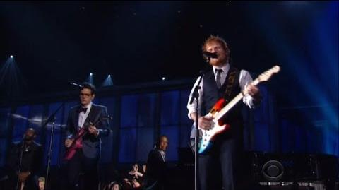 Ed Sheeran ft John Mayer - Thinking Out Loud (Live at the 2015 Grammys)