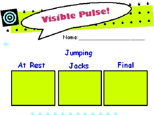 Visible pulse