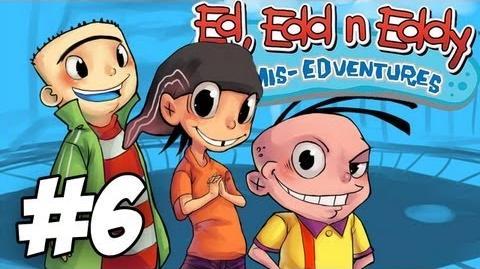 Ed, Edd n Eddy The Mis-Edventures Walkthrough Nightmare on Ed Street Part 6 (Xbox PS2 Gamecube)