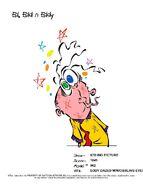 Eddy Dazed With Wobbling Eyes