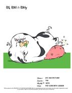 Fat Cow With Udder