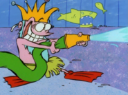 King Triton sprays Jonny