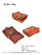 Tattered Suitcase (Eddy)