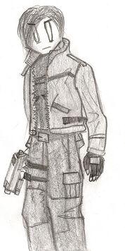 Leon S. Kennedy Sketch