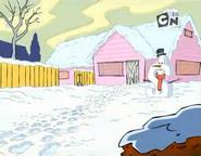 Eddy's house in Winter