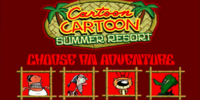 Cartoon Cartoon Summer Resort