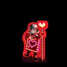 0150 Hearts Card Man