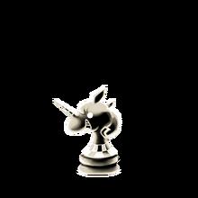 0157 White Chess Piece