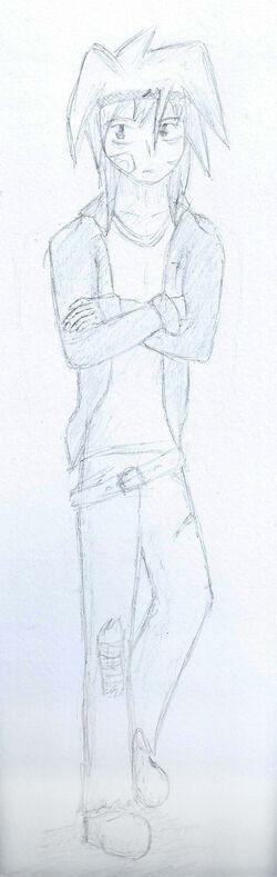 Yami Eilimint Goddess Sketch