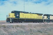 Chicago and Northwestern locomotive 8540