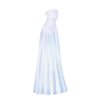 Clothing Snow Lady Sleeveless Gown