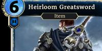 Heirloom Greatsword