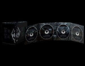 Skyrim Soundtrack Four Disc Set