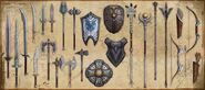 ESO Craftable Weapons and Armor