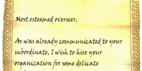 Amaund Motierre's Sealed Letter