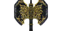 Ebony Battle Axe (Oblivion)