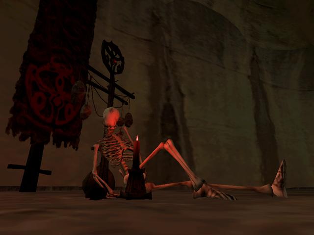 File:Vivec, Redoran Underworks Skeleton Morrowind.png