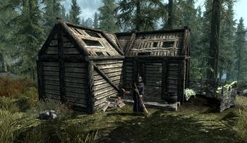 Anise S Cabin Elder Scrolls Fandom Powered By Wikia