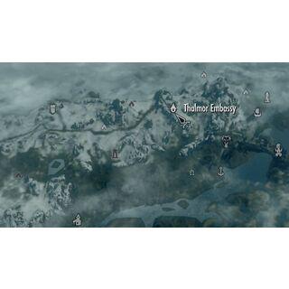 Agent Thalmoru- typowy Altmer w Skyrim