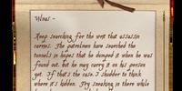 Jailor's Letter